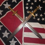 Confederate Artillery Sword and Union Artillery Sword