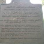 Dearing's Battalion Sign at Gettysburg