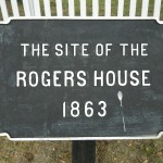 Rogers House Sign, Emmitsburg Road