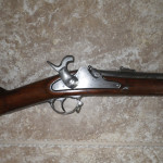 1862 Richmond Long Rifle, High Hump Cocked Hammer