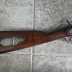 1862 Richmond Va.Long Rifle Stock & Patch Box