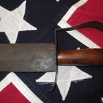 Confederate Bowie Knife and Tin Scabbard