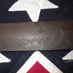 Confederate D Handle Knife With File Blade