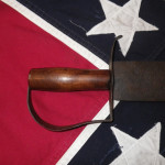 Confederate Bowie Knife D Handle, Right Side