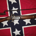 E.P. Bond Enfield Musket with Socket Bayonet