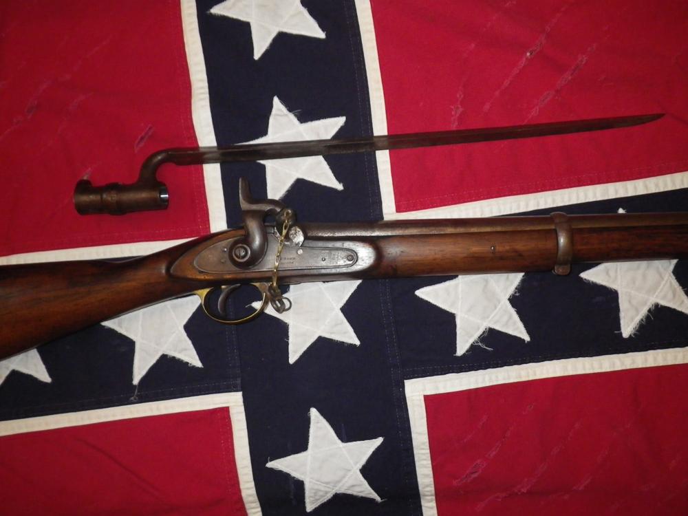 E.P. Bond Enfield Musket with Socket Bayonet