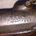 1865 Dickson Nelson & Co. Rifle, Barrel Markings