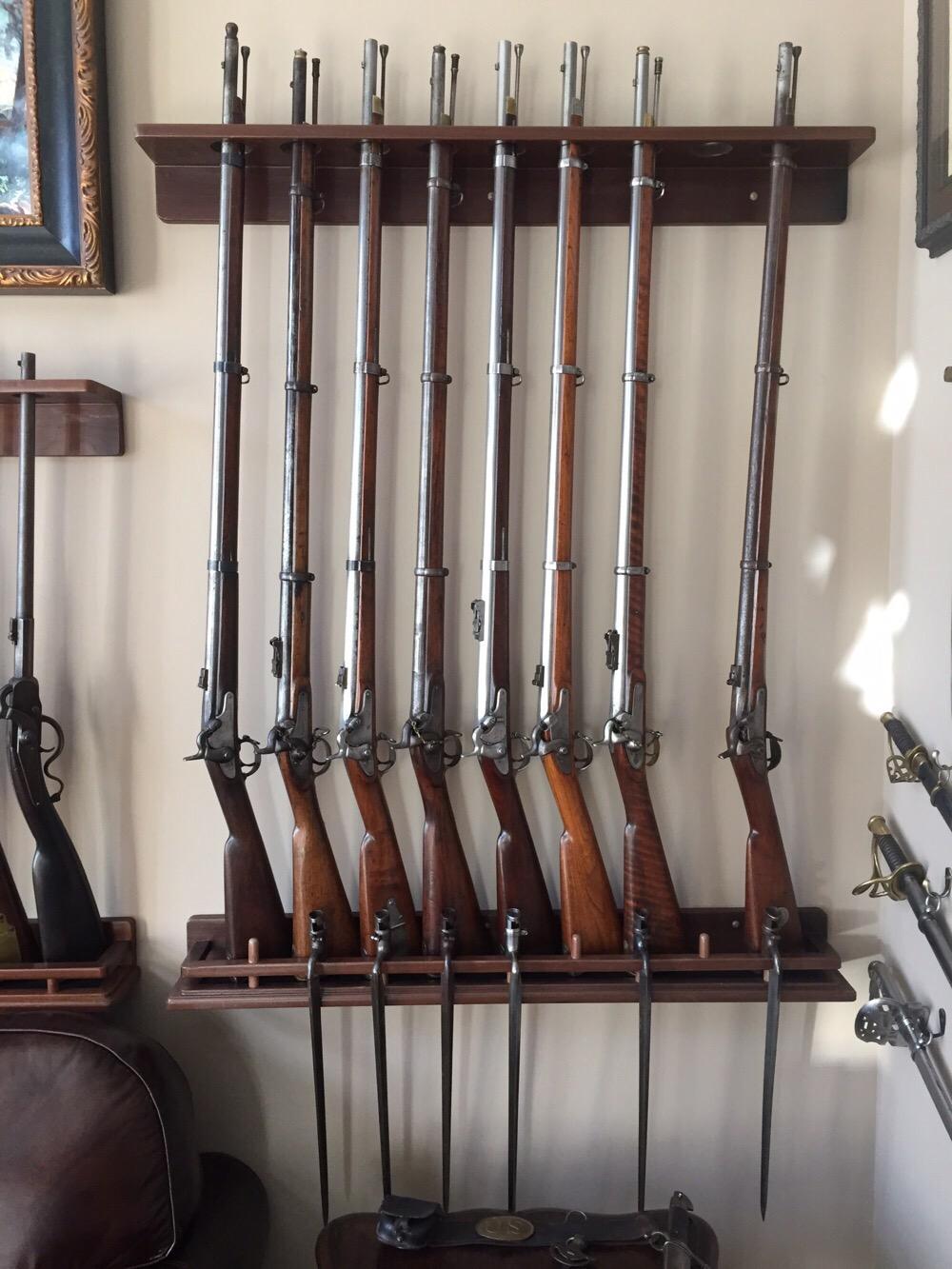 Civil War Long Rifles, Enfields, Richmonds and Springfields