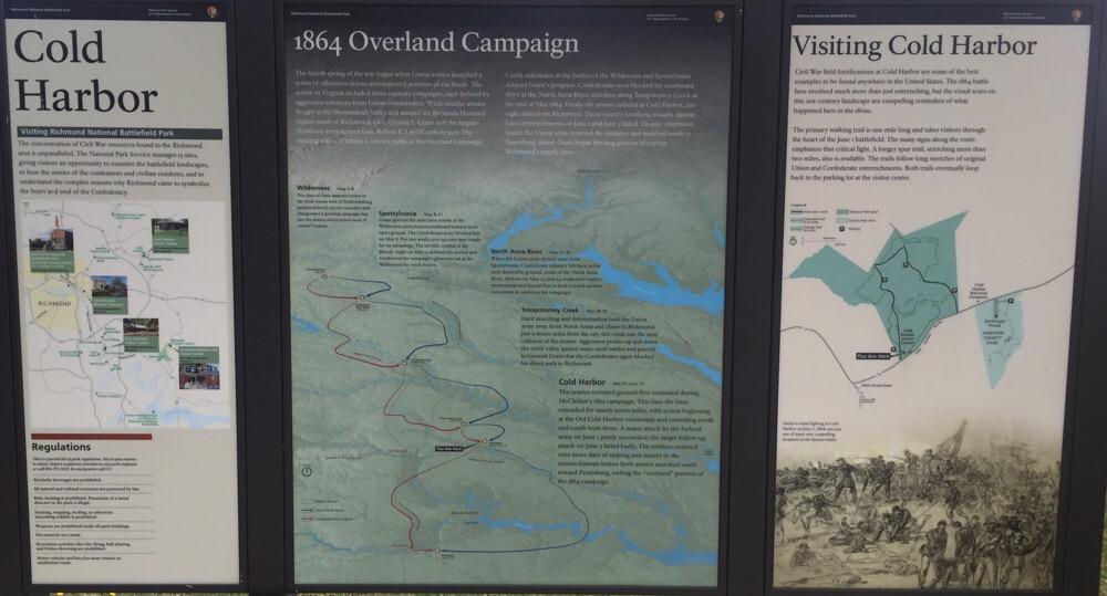Cold Harbor Battlefield