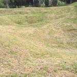 Crater at Petersburg Battlefield, Virginia