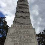 Major General William Mahone, CSA Monument