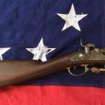 1863 Fayetteville Rifle, Stock & Lock Plate