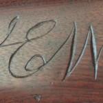 1863 Fayetteville Rifle Type IV, Intitals J.E.W.