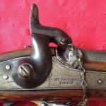 R.T. Pritchett Enfield Rifle Musket, Lock Plate