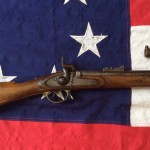Pritchett Rifle Musket Enfield, Shoulder Stock