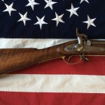 P-1853 Type III rifle Musket Enfield, Tiger Wood Stock