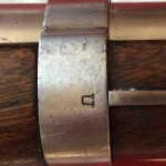 Harpers Ferry Rifle Musket, Rear Barrel Band