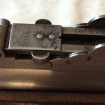 Harpers Ferry Rifle Musket, Long Base Adjustable Rear Sight