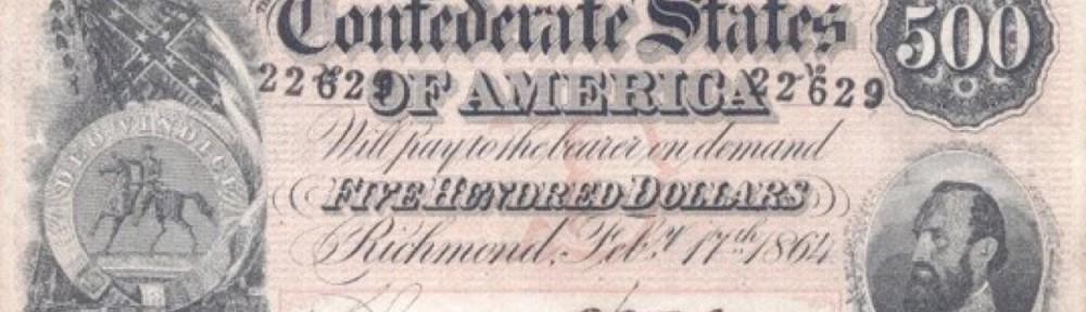500 Confederate Dollars