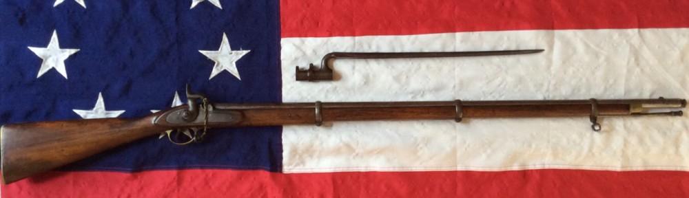 E.P. Bond Musket Rifle, Confederate Inventory # 8199