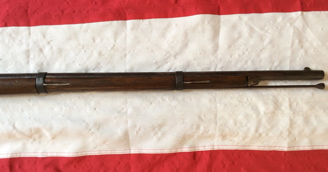1863 Richmind Short Rifle, Forward Stock