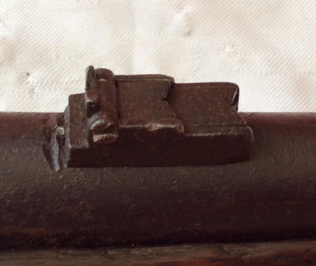 Richmond Carbine, Rear Sight