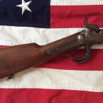 1864 Burnside Carbine, Shoulder Stock