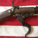 1864 Burnside Carbine, Open Action