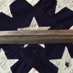 Confederate Artillery Sword, C.S. & Star