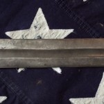 Confederate Short Sword, Double Edged Blade