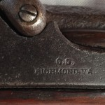 C.S. Richmond Virginia, Lockplate Closeup