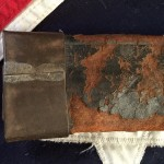 Confederate Scabbard, Throat Closeup