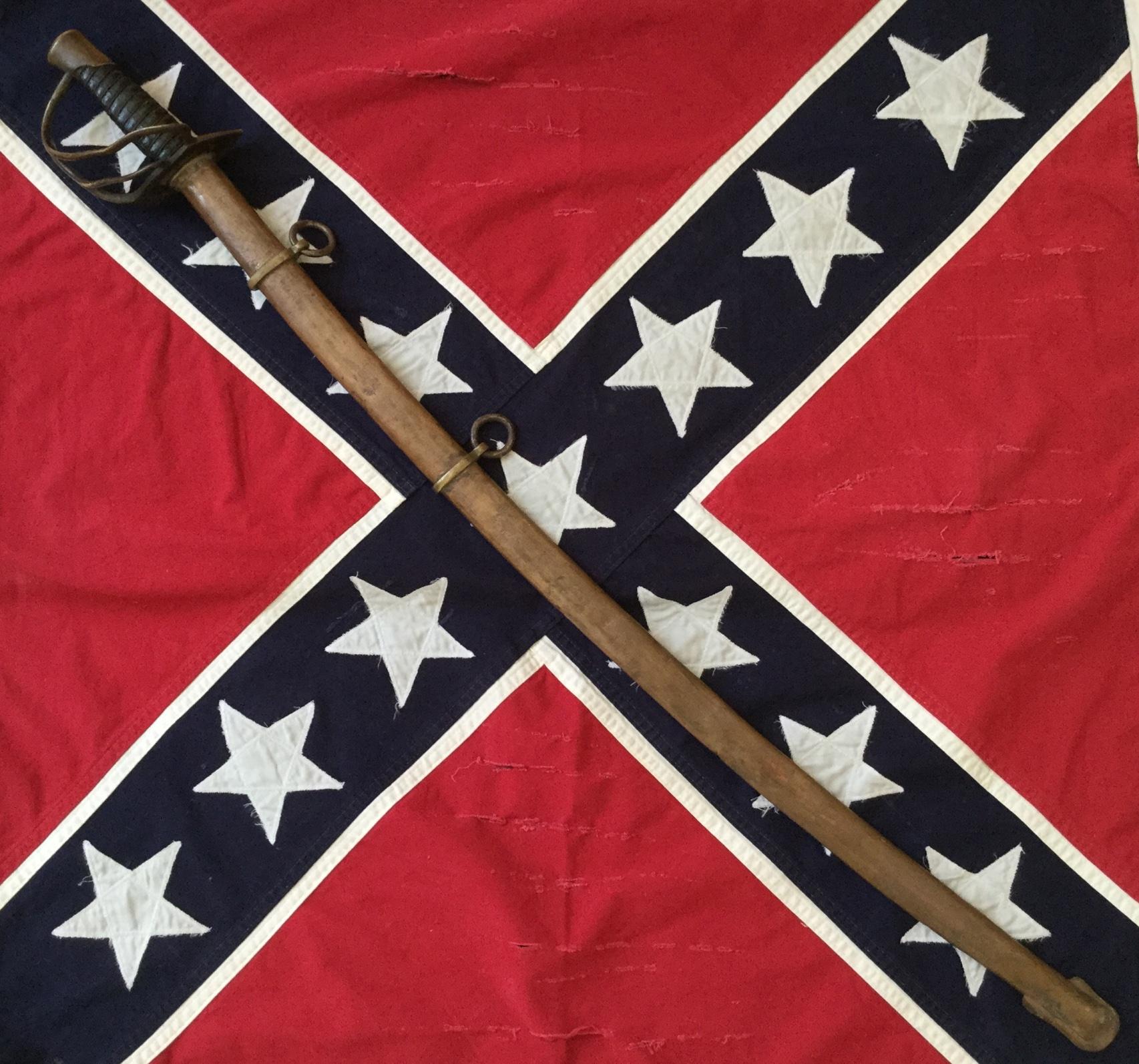 Confederate Enlisted Men's Cavalry Sword