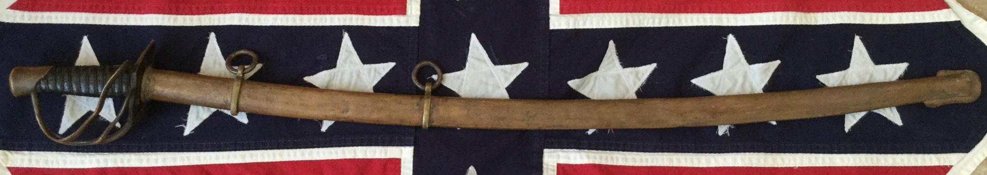 Enlisted Men's Cavalry, 2nd Model Kenansville Sword
