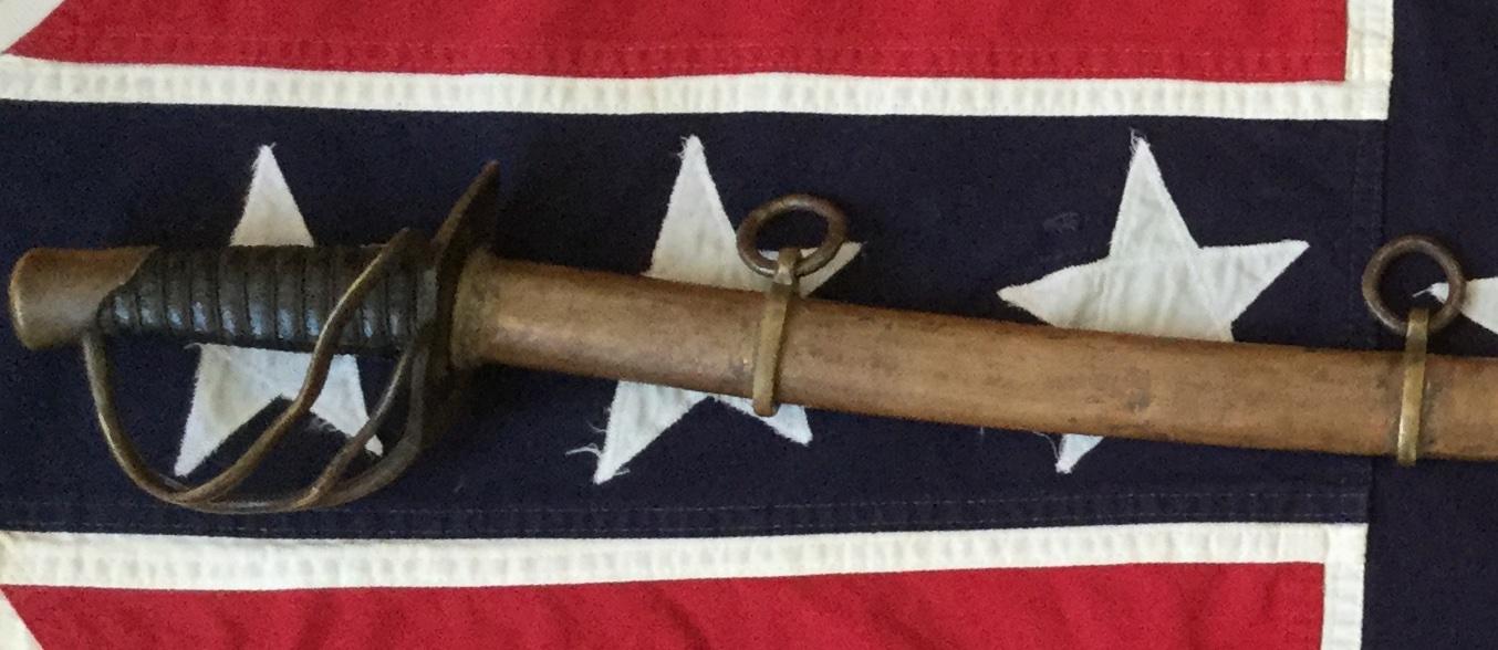 Kenansville Calvary Sword & Copper Scabbard