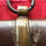 Haiman Brothers Scabbard Brass Mount & Iron Ring (Back)