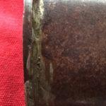 Confederate Sword, Iron Throat and Crude Solder