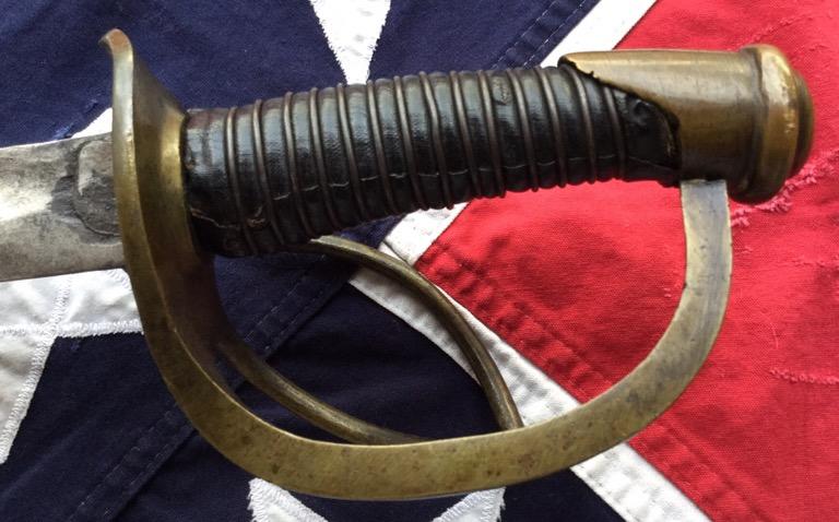 Louis & Elias Haiman Calvary Sword, Cloth Grip