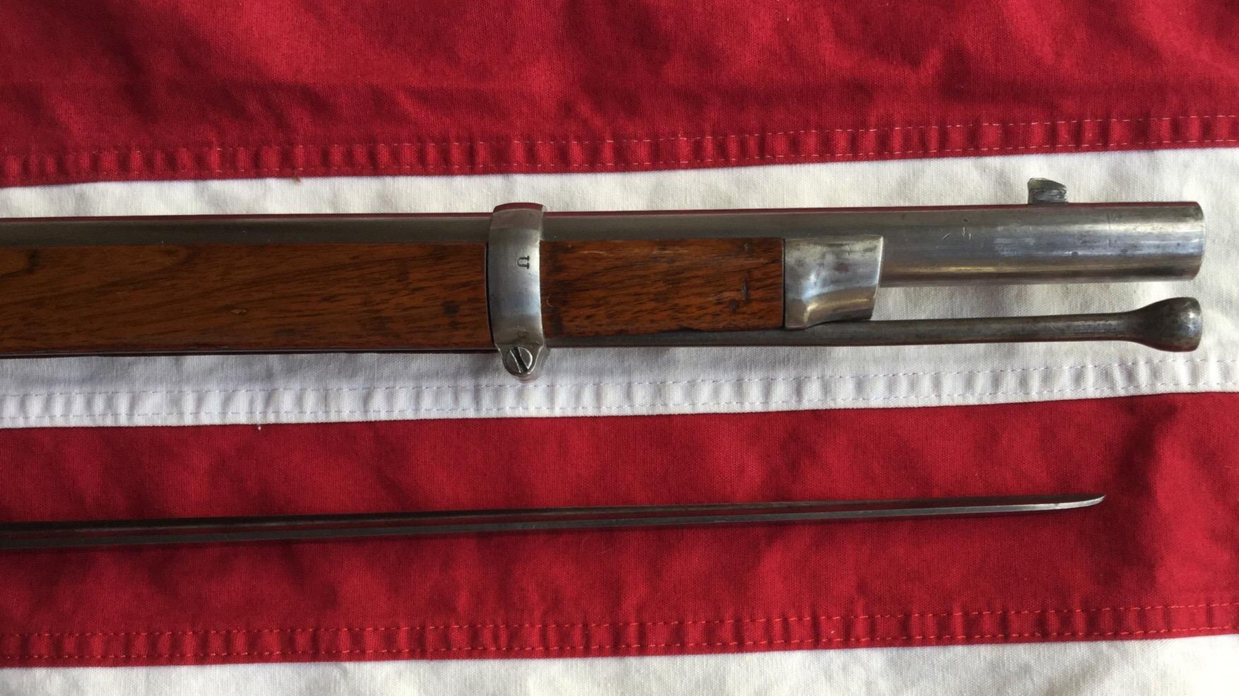 1863 Springfield Forward Stock & Ram Rod