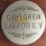 Dahlgren Camp 98 Sons of Veterans Medallion
