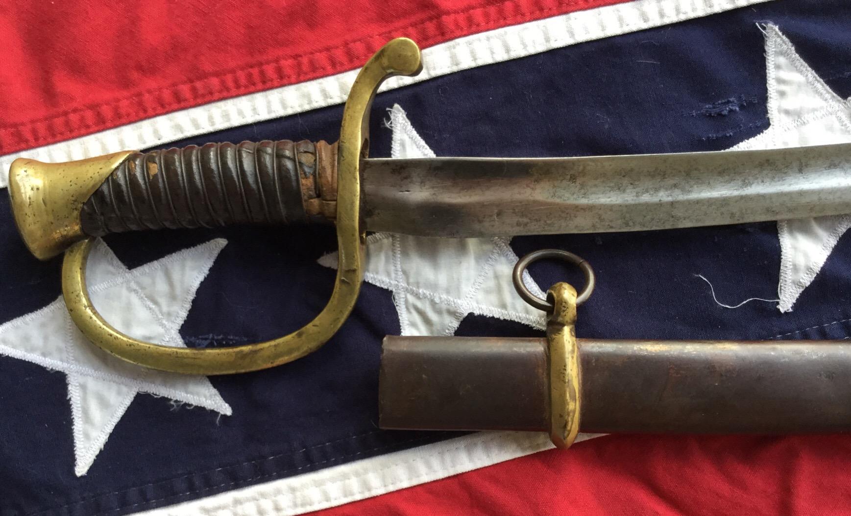 Louis Haiman Artillery Sword Hilt & Scabbard