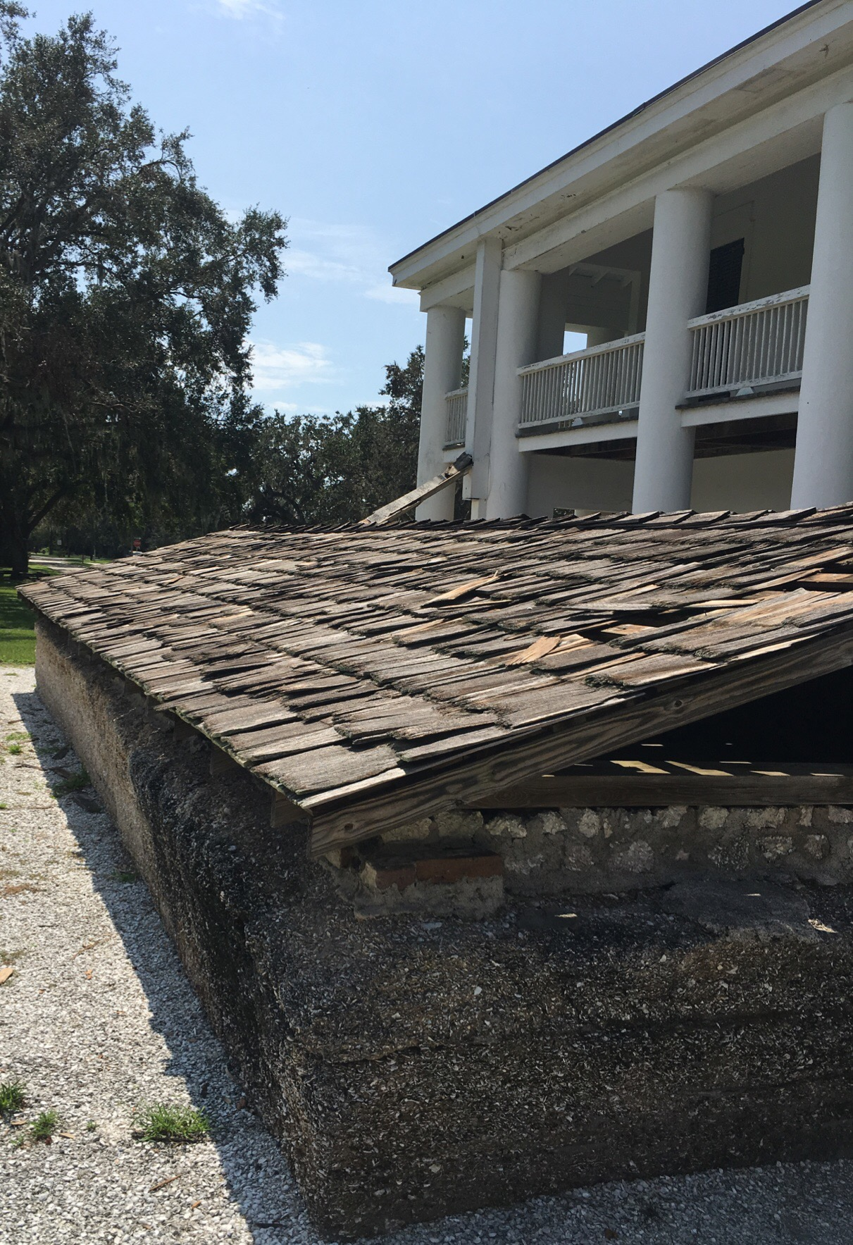 Gamble Plantation Mansion Cistern