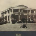 Gamble Plantation Mansion, Circa 1934