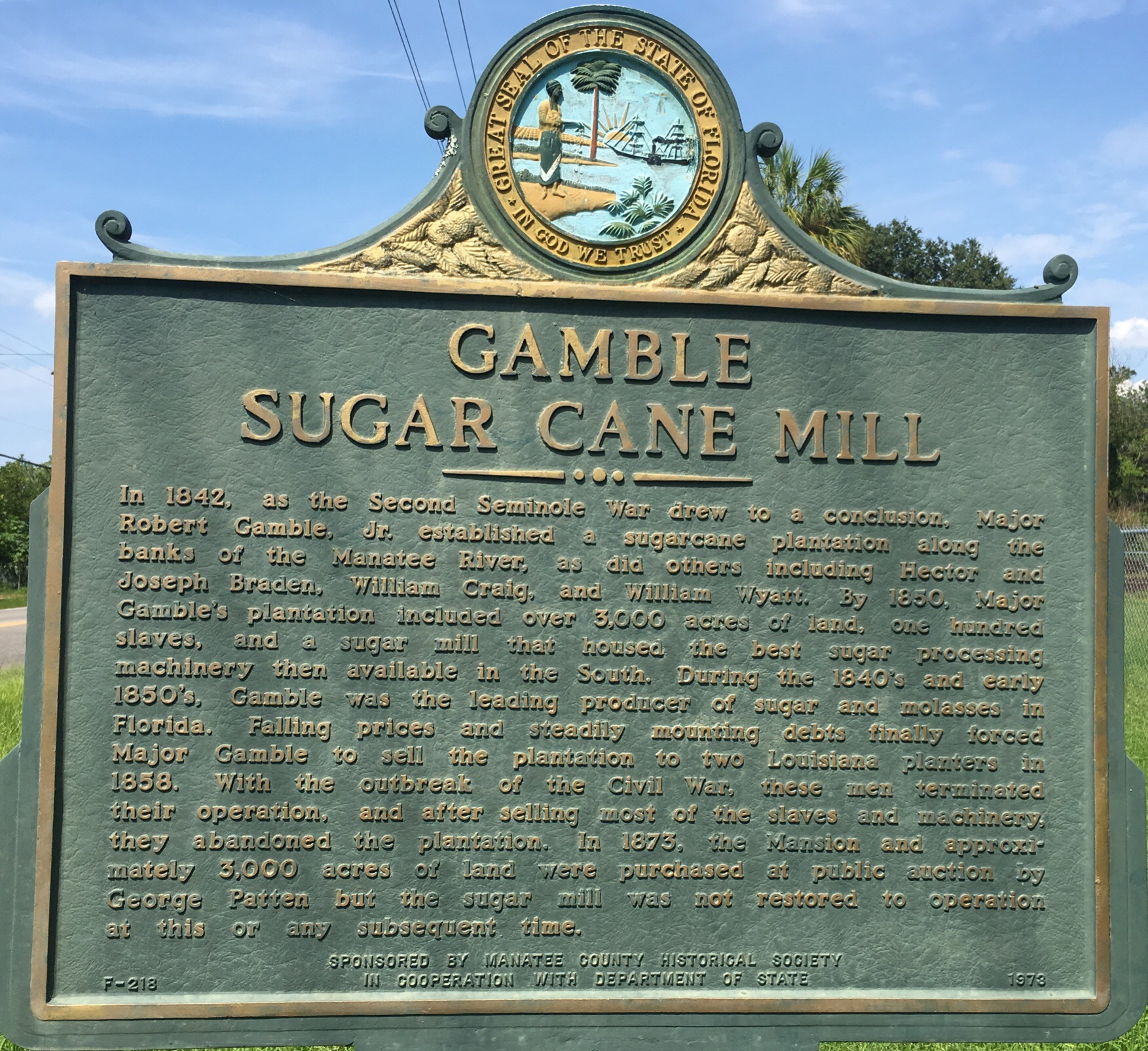 Gamble Sugar Cane Mill