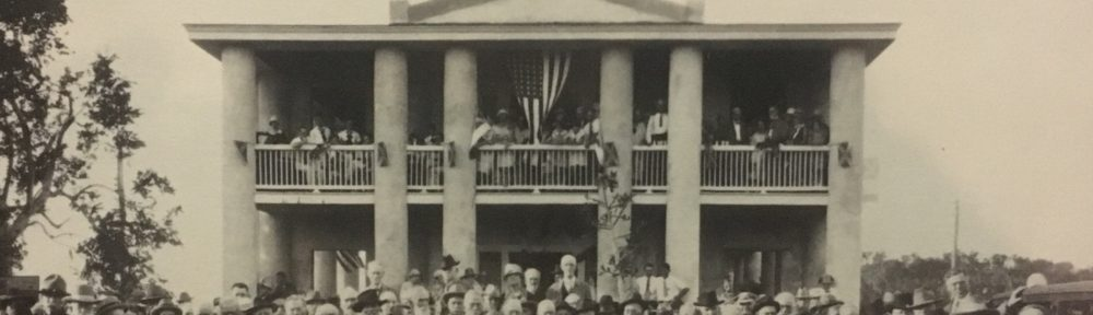Gamble Mansion, 1927 Confederate Reunion
