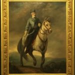 General Robert E. Lee & Traveler His Horse, Oil Painting