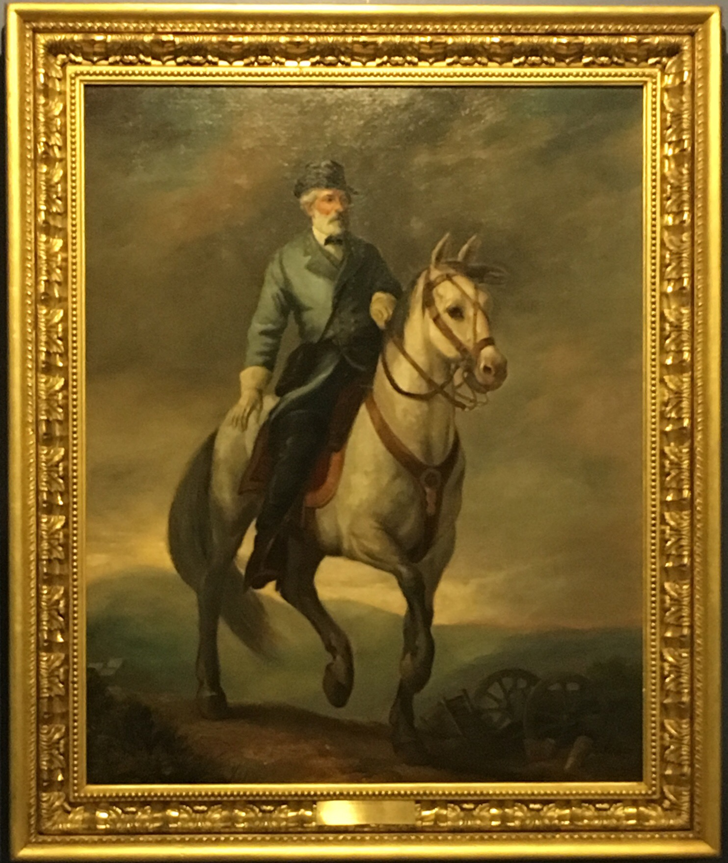 General Robert E. Lee & Traveler His Horse, Oil Painting