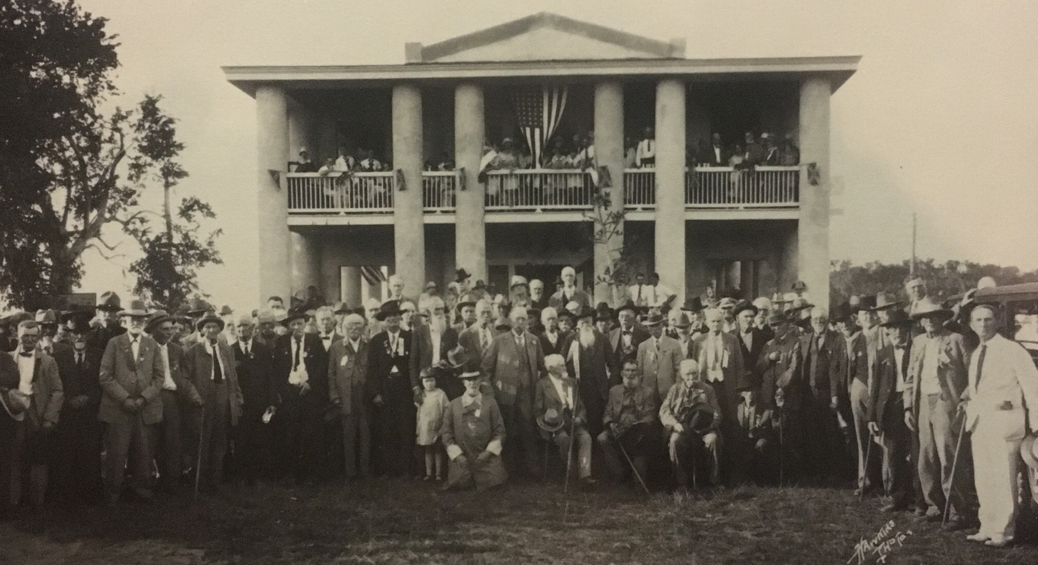 Gamble Mansion, 1927 Confederate Veterans Reunion