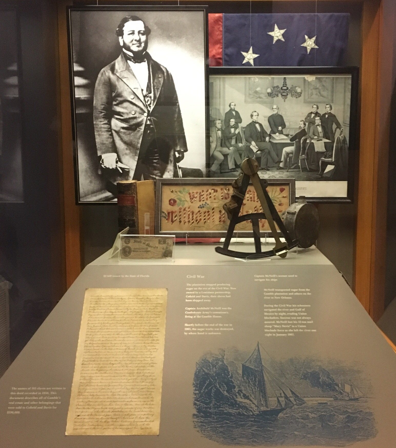 Confederate Secretary Of War, Judah P. Benjamin & Artifacts