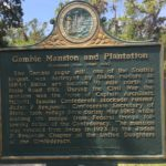 Gamble Mansion & Plantation Plaquard, Side 2